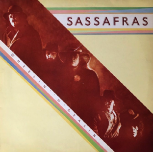 Sassafras - Wheelin' 'N' Dealin' (LP) (EX/VG-)